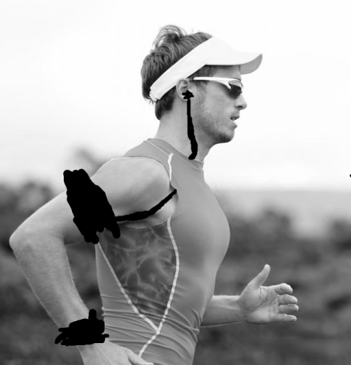 Expert digital alteration of runner with
